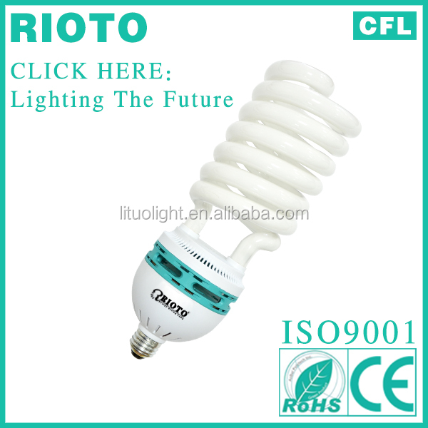 Half Spiral energy saver light e27 105w CFL lamp light bulbs made in China