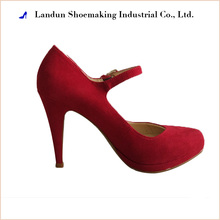 High - grade red sexy ladies high heel bridal shoes