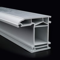 chinese manufacture window door pvc profiles with china market