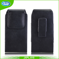 High Quality Universal Leather belt clip holster Phone Pouch Case for iphone 6
