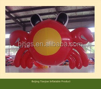 Hot sale high quality inflatable crab balloon