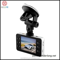 Two bright LED lights 1080p gps car recorder v1000gs