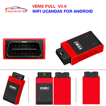 Newest UCANDAS VDM2 USCANDAS VDM II V5.2 WIFI Full System Automotive Scanner For Android Phone & Tablet Support Multi-Language
