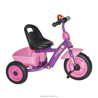 hot sale cheap 3 wheeler ride on /children tricycle with big rear basket --meacool brand --xingjiu co