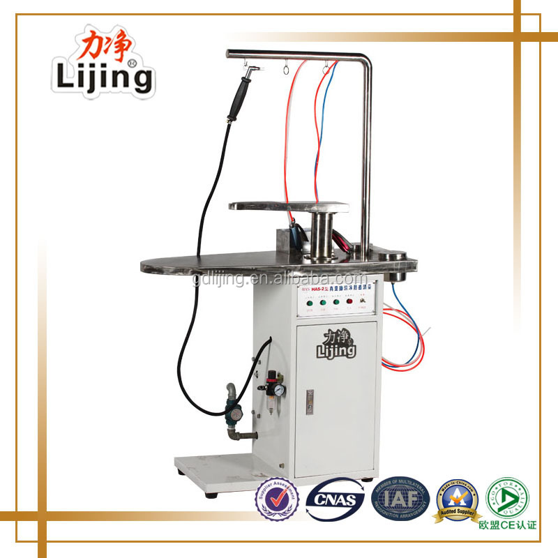 commercial laundry steam stain removing machine for dry cleaning