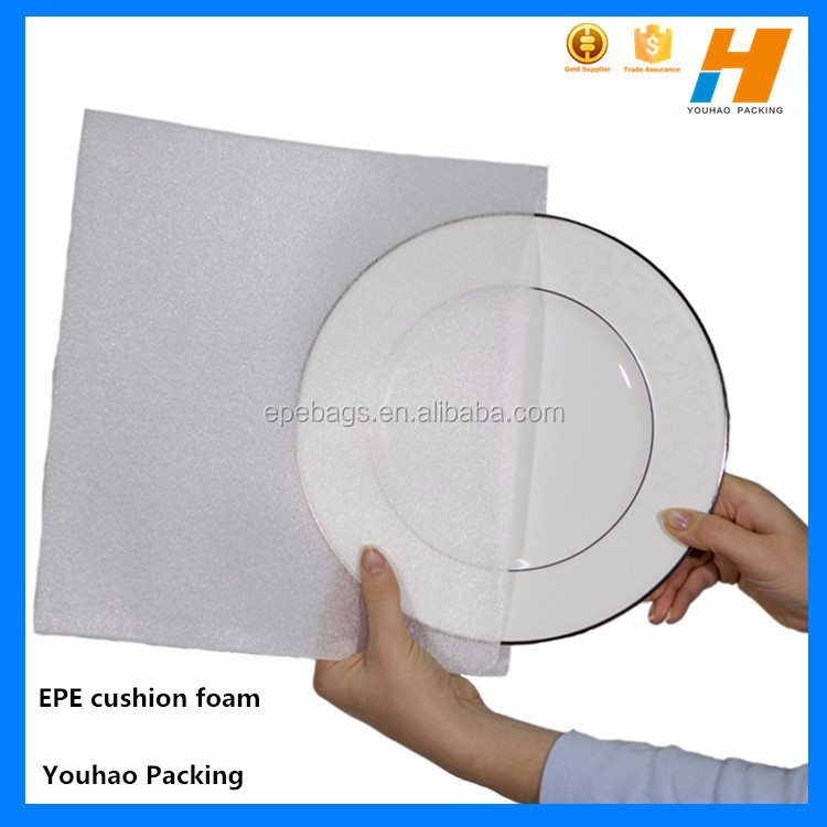 Cushion Foam Pouch For Dinner Plate