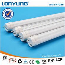 100% recyclable 50,000 hrs lifespan led tube light with milky cover no flickering, delays or buzzing