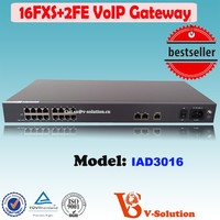 16 FXS Port home gateway telecom VoIP Similar With linksys pap2