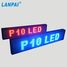 Hot sales p10 16*32 module outdoor use led display sign