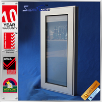 Energy saving double glass balcony roof window with AS2047 Standard