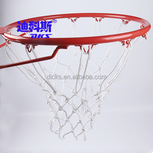 PP Material Basketball Nets,Training Basketball Nets White Color