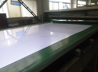 Advertising board white ABS Sheet for graphic printing