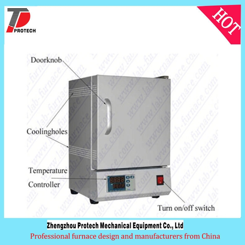 high temperature sapphire crystal growing furnace/ crystal growth processing muffle Furnace