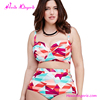 Low MOQ Flower Mature Woman Beachwear Sexy Bathing Suits For Women