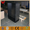 Real factory producing mdf slatwall display unit/4 way retail store fixtures