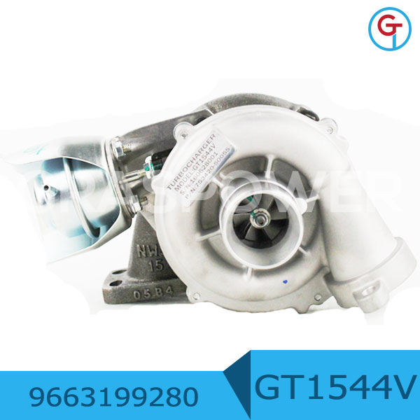 GT1544V DV6TED4 - 9HZ <strong>Engine</strong> Mazda 3 1.6L Turbo 753420-5005S