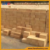 Factory Refractory Chatotte Fireclay Fire Brick Masonry Clay Brick for Fireplace and Kiln Furnace Lining