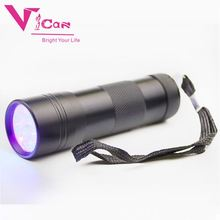 Timely service shockproof laser pointer Pets UltraViolet Urine Detector 12 led UV light flashlight torch