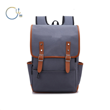 Rugged thick vintage canvas mens messenger bag,laptop backpack bag