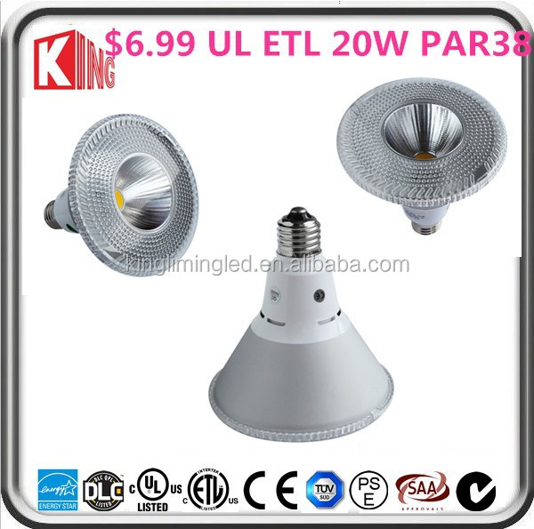 Fast delivery led par 38 Wholesale 10w Ul Cob E27 par38 led