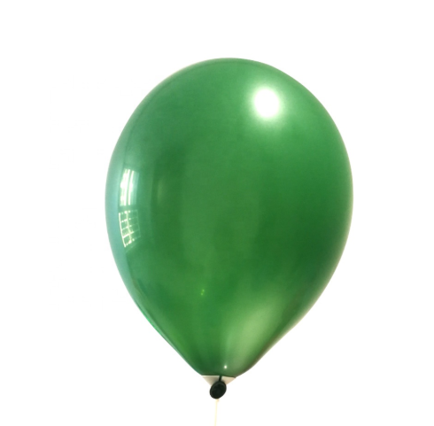 12inch Hot Sale Round Helium Metallic Biodegradable Latex Party Balloon