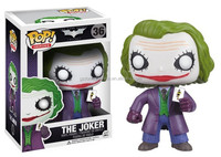 FUNKO POP TheAvengers 2 Age of Ultron Super Heroes Marvel DC dnaf2016 Knight Make Up JOKER Heath Ledger Bobblehead PVC Figure