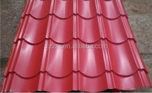 0.3mm-0.8mm thickness Popular Colorful Stone Coated Metal Roofing Tile