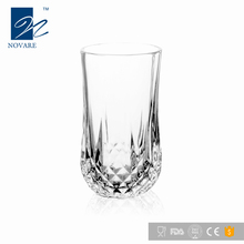 Clear Lead-free Crystal Diamond Cut Glass Drinking Cup Whiskey Glass