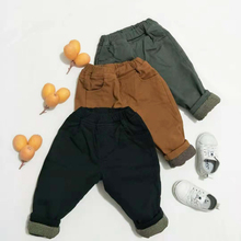 2019 Wholesale Cotton Stretch Trousers <strong>Boy's</strong> Casual <strong>Pants</strong> Kids Boys Winter <strong>Pants</strong>