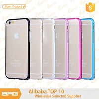 OEM Aluminum bumper TPU case cover For iPhone5/5s/ 6/6s/6 6splus