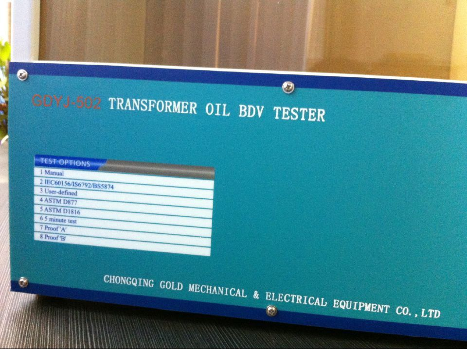 GDYJ-502 Insulating oil Dielectric Strength Test set ( BDV Test)