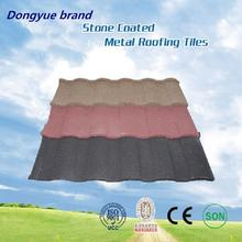 Low cost stone coated metal roof tile photovoltaic terracotta metal roof tile