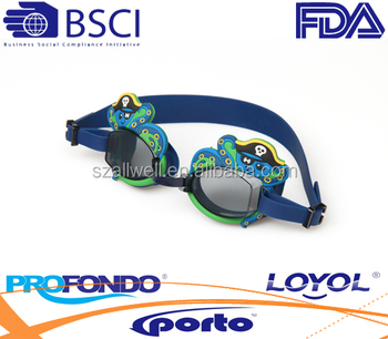 Popular silicone swim goggle both for kids and adults