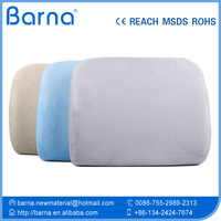 Sciatica&Pain Relief Memory Foam Lumbar Cushion Pillow with a 3D Mesh Cover Invisible Zipper and Strap to Clip to Chair