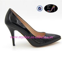 top brand leather cusp OL office ladies works ladies stilettos high heel shoes
