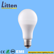 1A-B21,23 HongKong Exhibition A60 9W PF>0.5 990LM Aluminum Plastic Bulb 260 Beam Angle 2years Warrantry Led Bulb Light