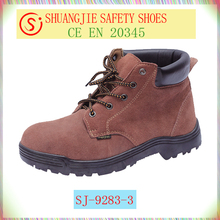 work shoes cheap price suede leather safety shoes China safety shoes manufacturer NO.9283-3