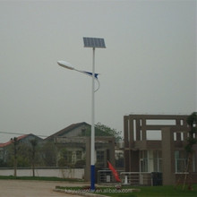 intelligent energy-saving motion sensor led solar street light with pole