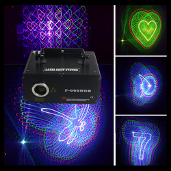Full Color 500mw RGB Animation Dynamic Laser Lighting Show Equipment For DJ