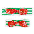 Christmas Halloween Holidays Toodler Adult Bowknot Headband Handmade - Cotton Fabric - Parent and Kids Pack