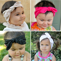 2016 New style fancy plastic top baby headband wholesale flower headband