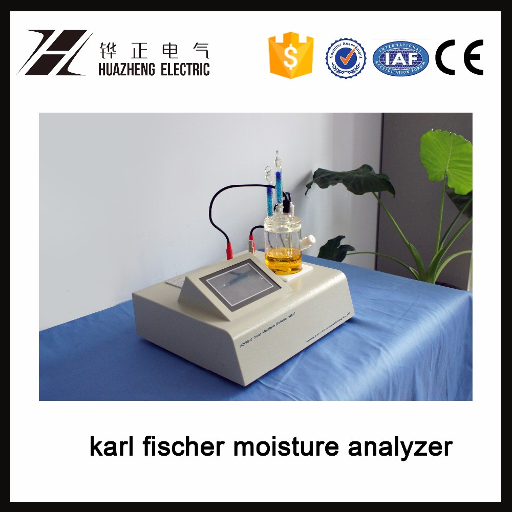 Petroleum Products Karl Fischer Oil Water Content Analysis Equipment