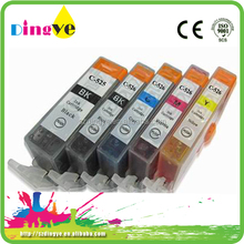 For canon printer cartridges compatible cartridges for PGI-525 CLI-526