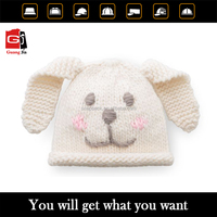 Wholesale Crochet Winter Hats 100% Acrylic Animal Cartoon Knitted Hat