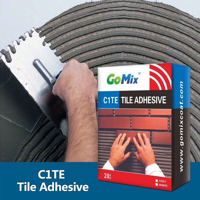 Wall and Floor Tile Installation Mortar C1TE General Tile Adhesive