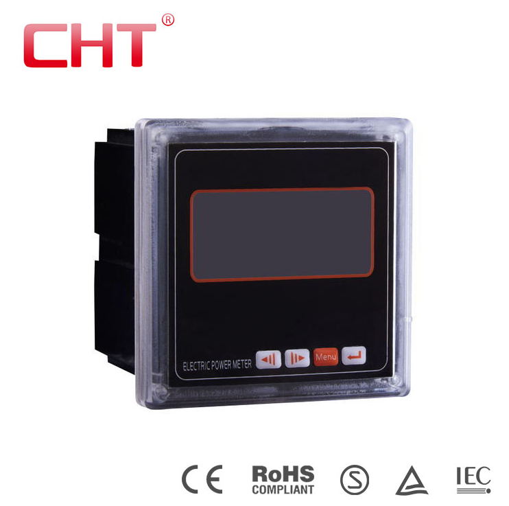 LCD display RS485 modbus multifunction power meter