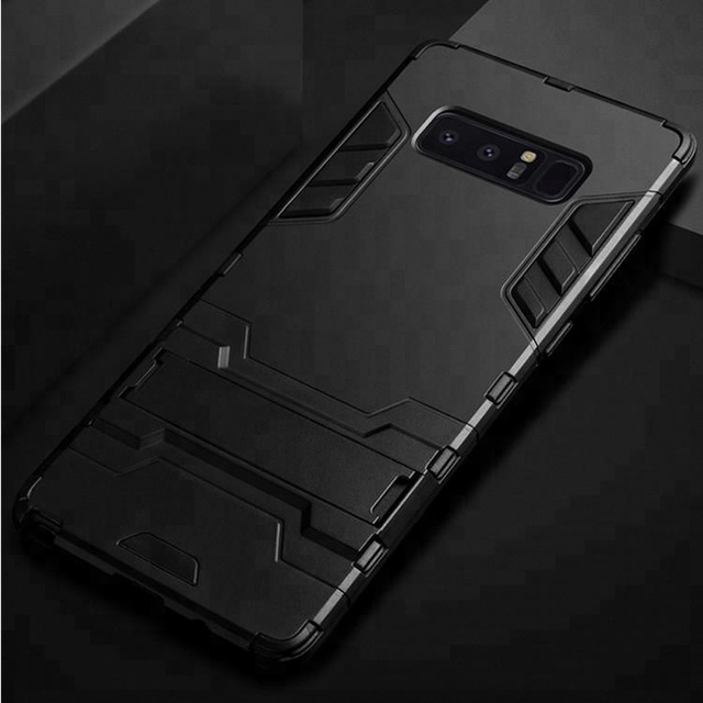 Note 8 case mobile shell tpu edge pc kickstand phone back cover for samsung galaxy note 8 case