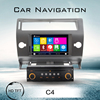 7 inch 2 din car dvd for Citroen C4 dvd player for car with navigation