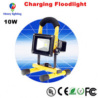New Products 2016 Portable Rechargeable Led Flood Light in Tripod Stand for Construction Site