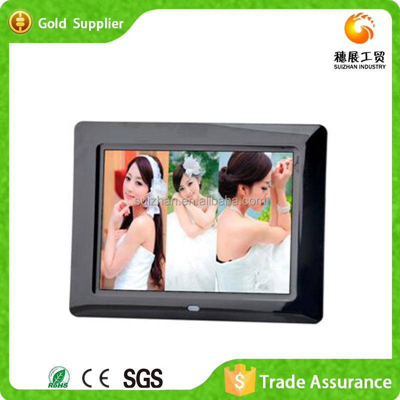 Yiwu Supply Beautiful Christmas Decorations Photo Frames Sex Video Playback Digital Picture Frame 17